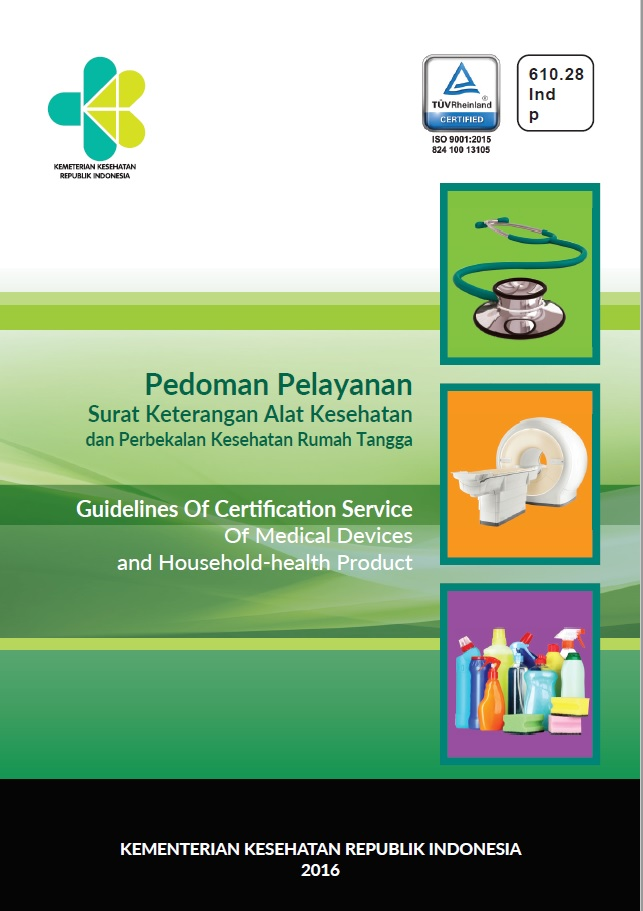 Pedoman Pelayanan Surat Keterangan Alat Kesehatan dan PKRT ...