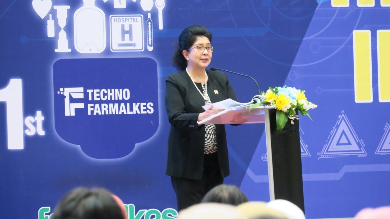 The 1st Technofarmalkes 2019 Indonesian Health Tech Innovation Direktorat Jenderal Kefarmasian Dan Alat Kesehatan